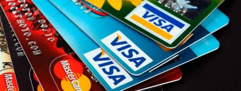 Tarjetas de crédito ofrecidas por entidades bancarias y financieras